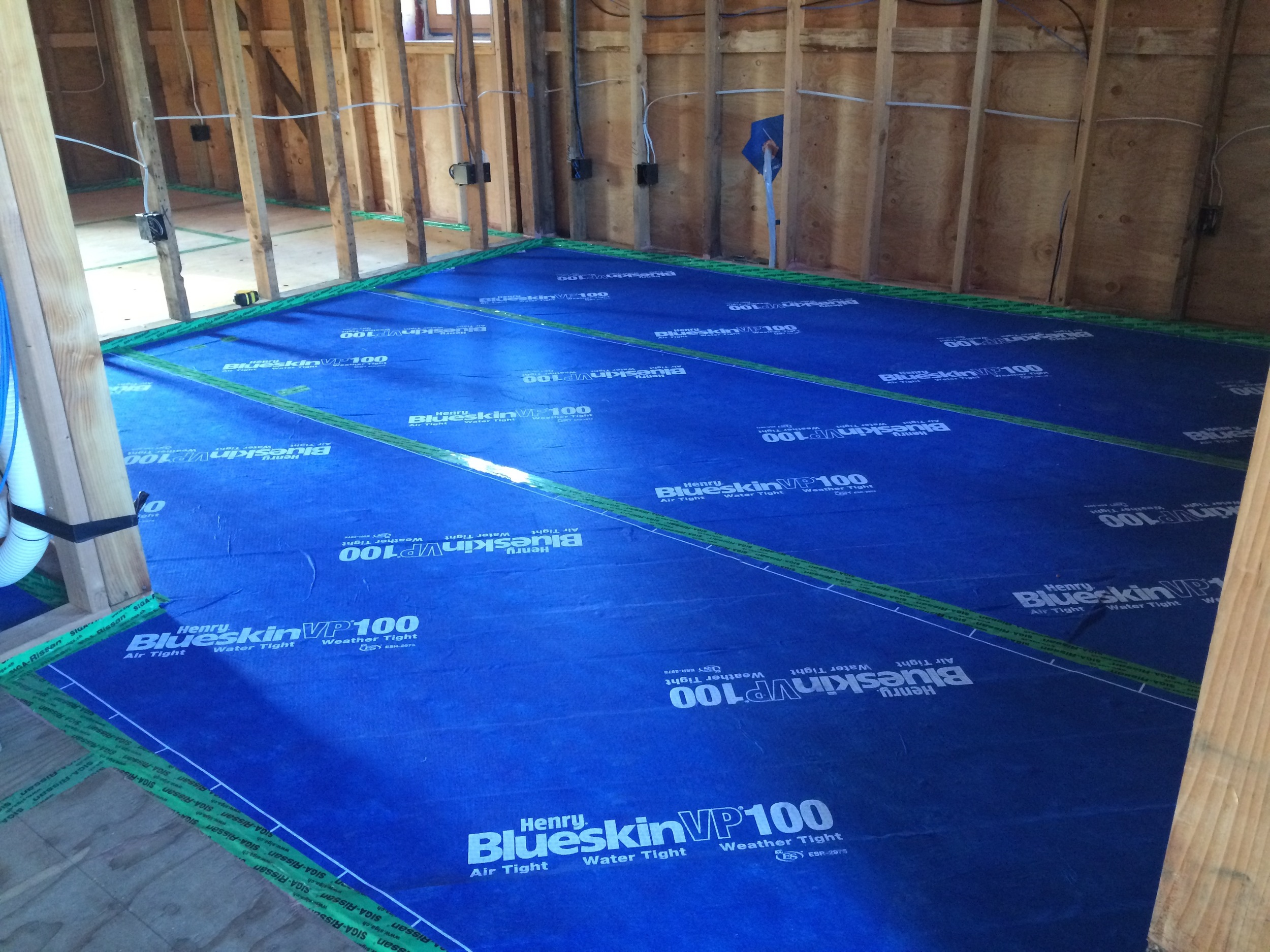 Air Sealing an old Subfloor!