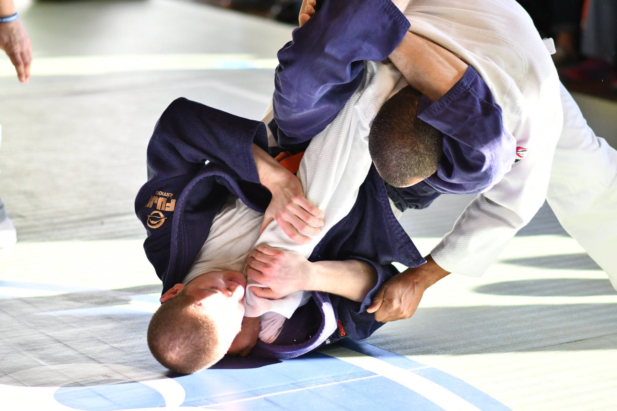 The Triangle Choke - A submission used in BJJ