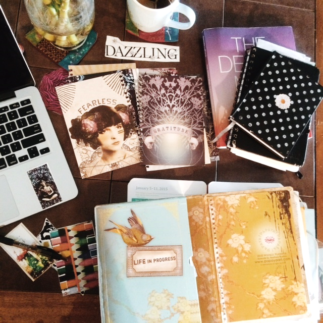Collage Journal Materials
