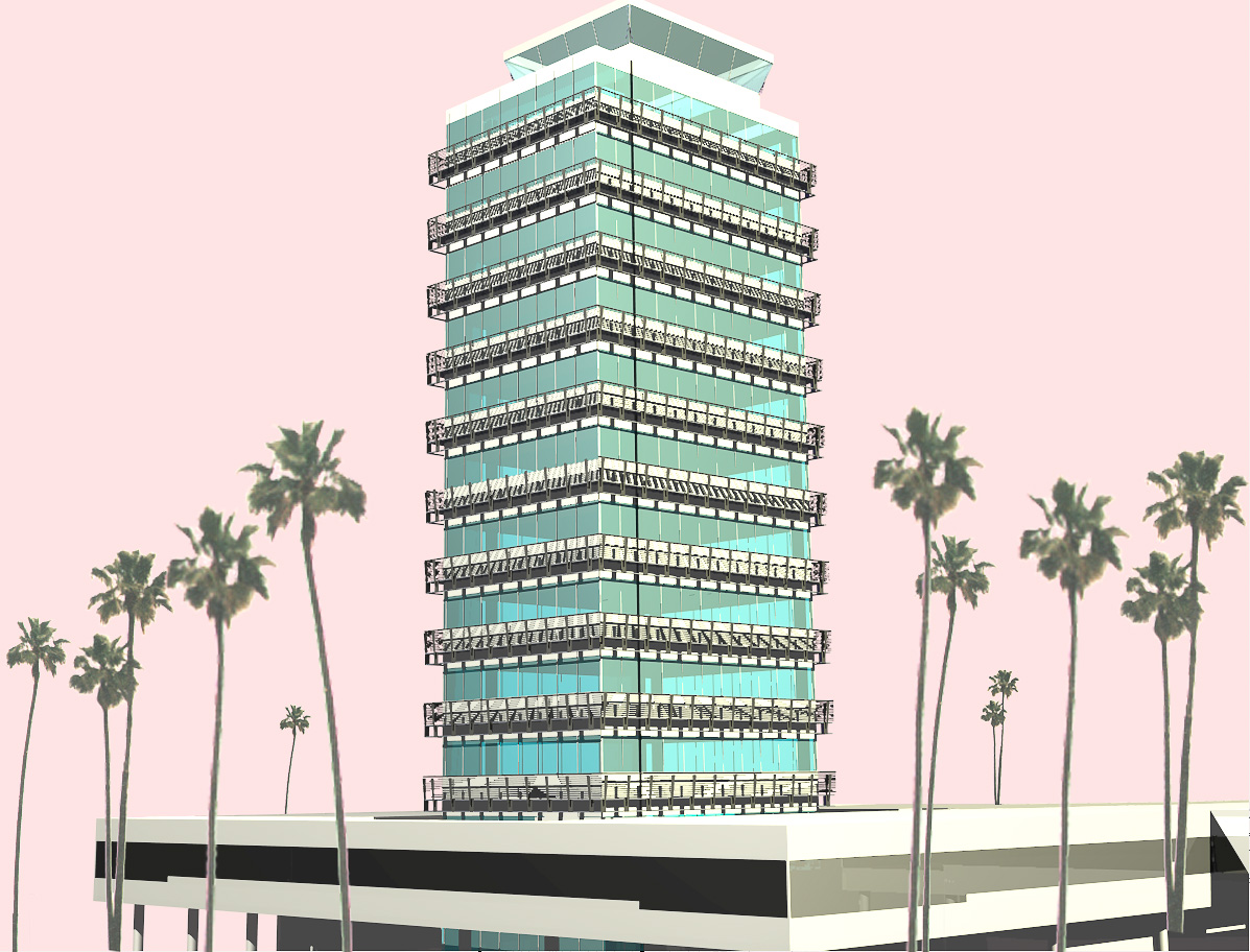 LAX Former Air Traffic Control Tower Rendering 2