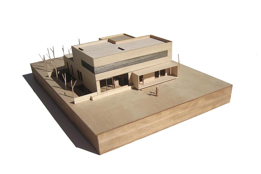 Daybreak Residence Scale Model Street View