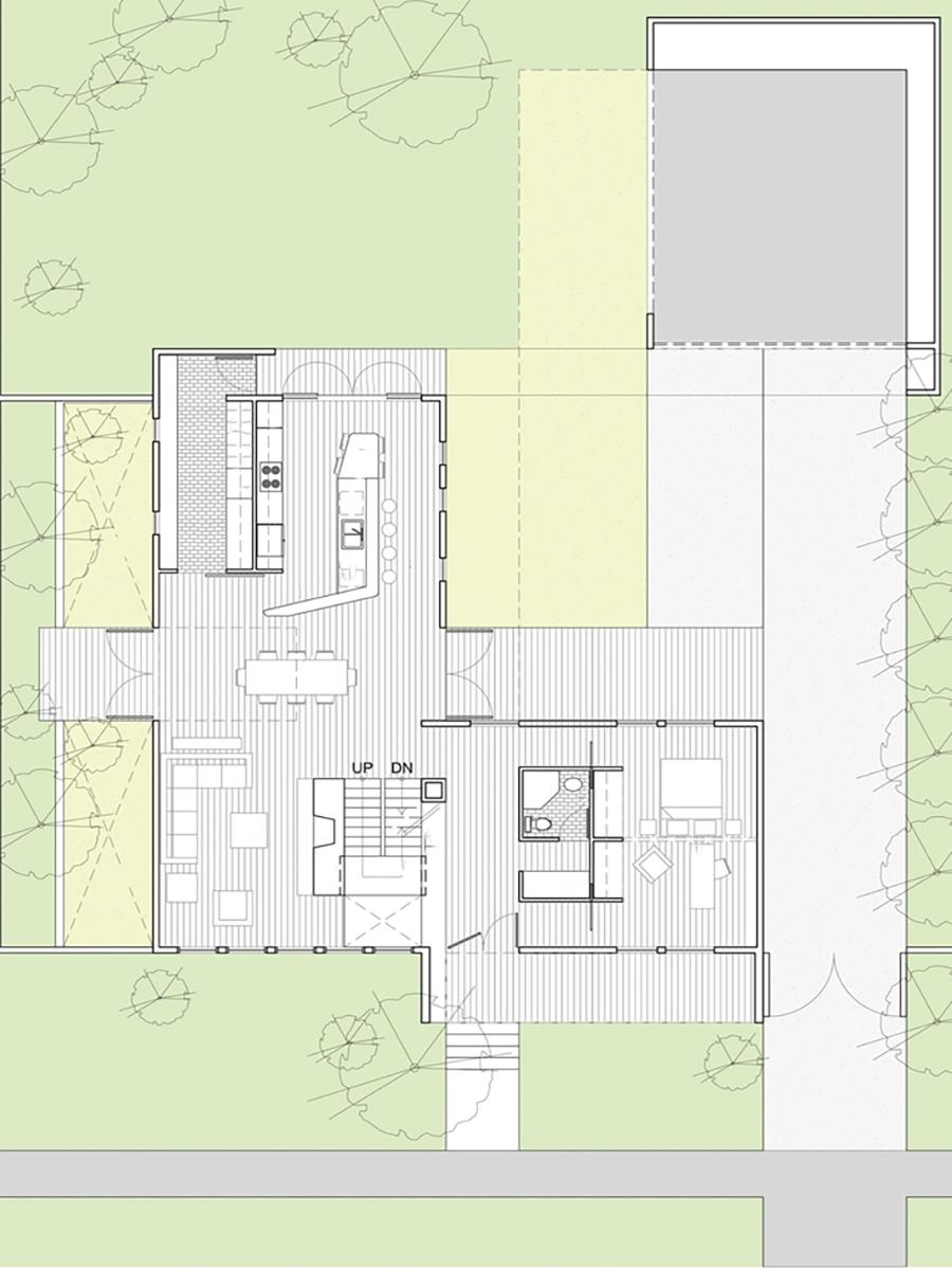 Daybreak Residence Site Plan