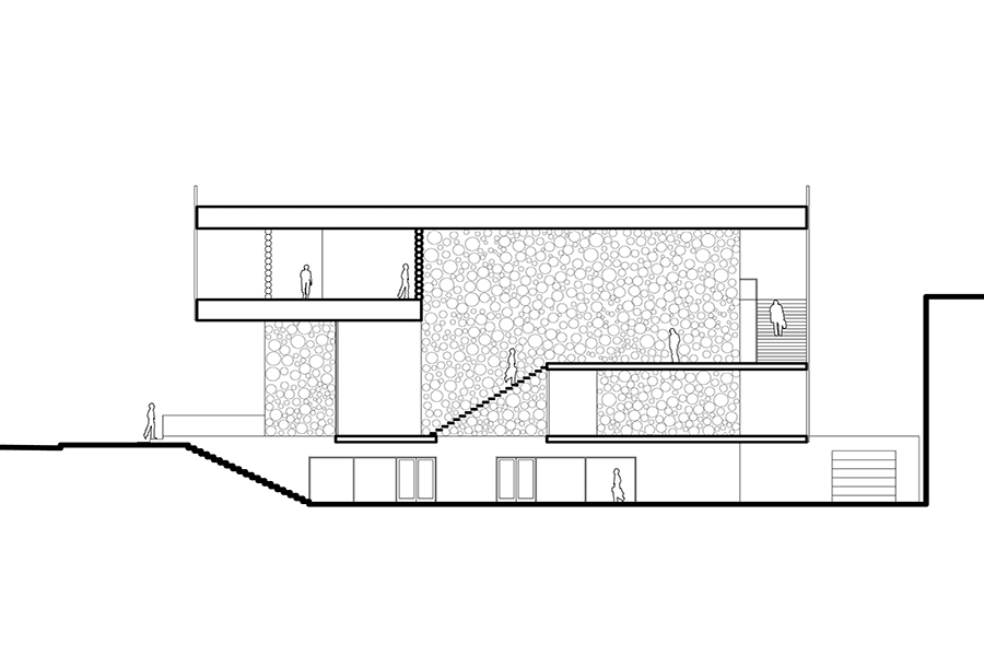 SparanoMooneyArchitecture_KimballArtCenter_Section(R).jpg
