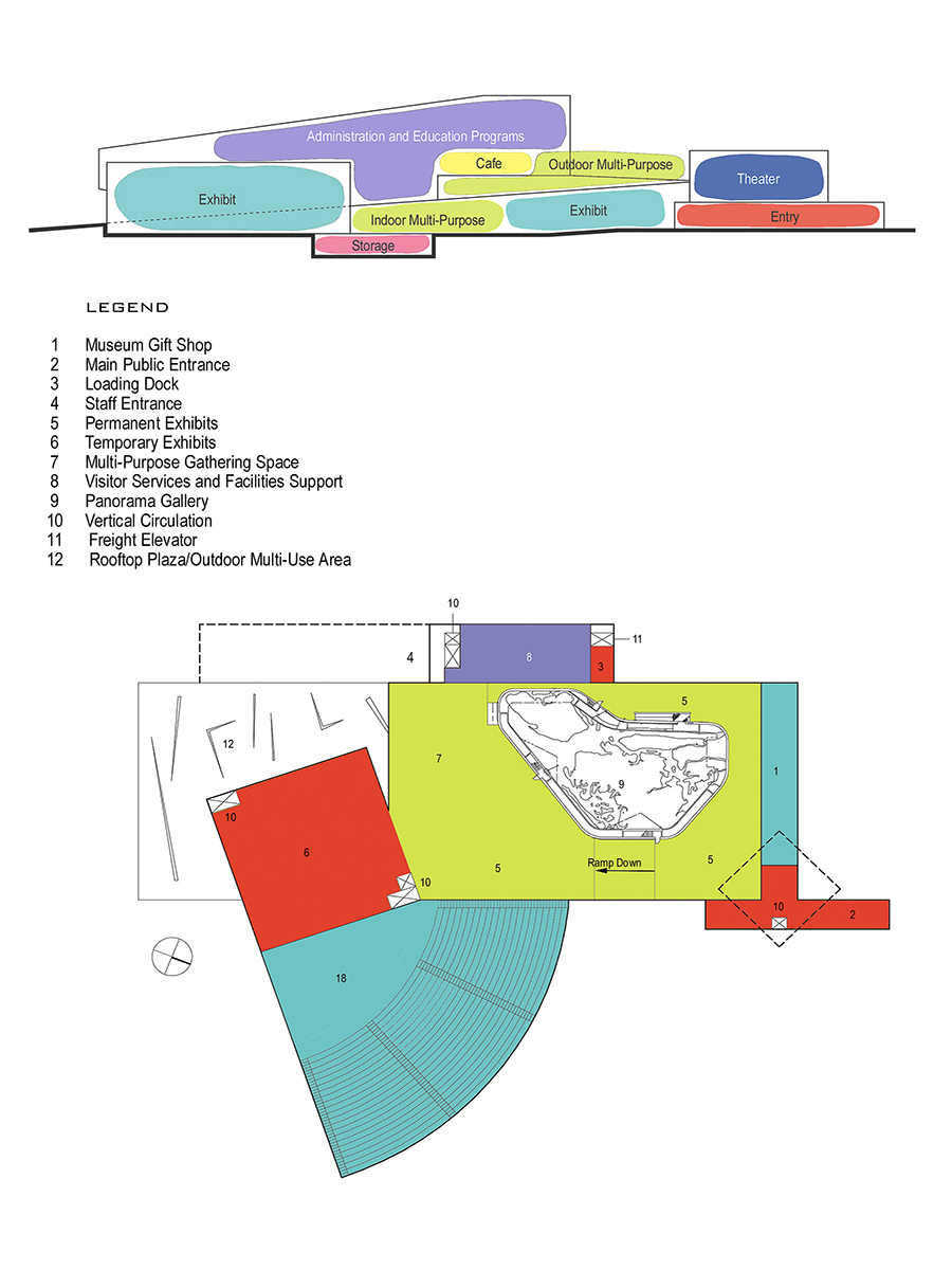 Queens Museum of Art Program and Floor Plan