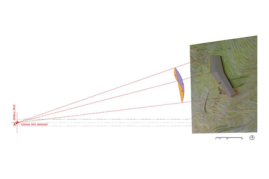 Malibu Canyon Residence Angle Study for Viewpoints