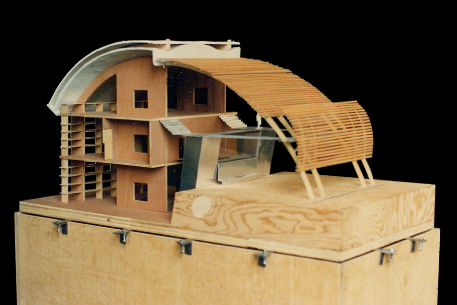 Barcelona Agricultural Museum Scale Wooden Architectural Model