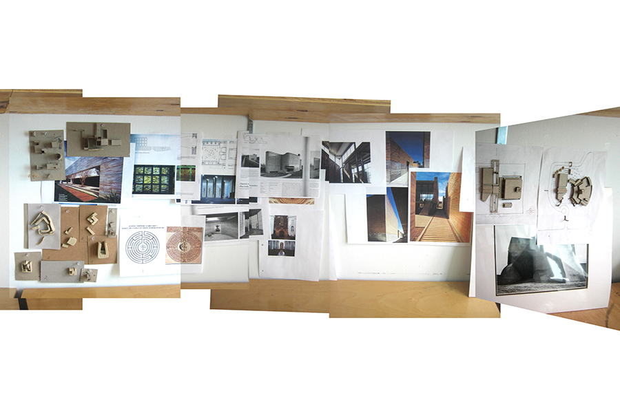 St. Francis of Assisi Process Photographs and Precedents Studies