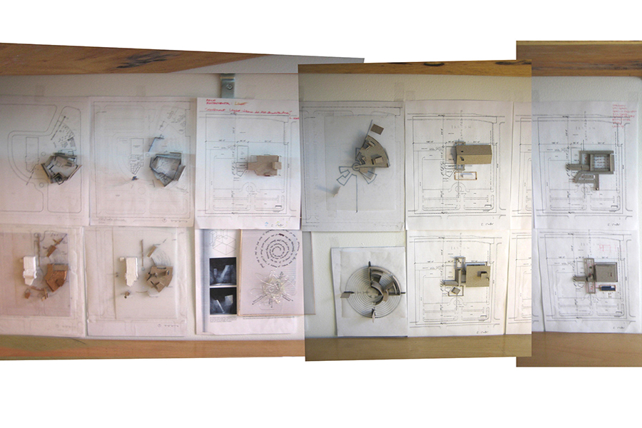 St. Francis of Assisi Massing Process Studies