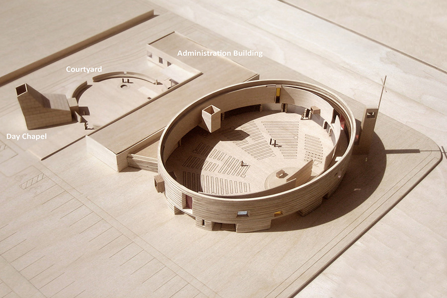 St. Joseph the Worker Day Chapel and Church Site Model