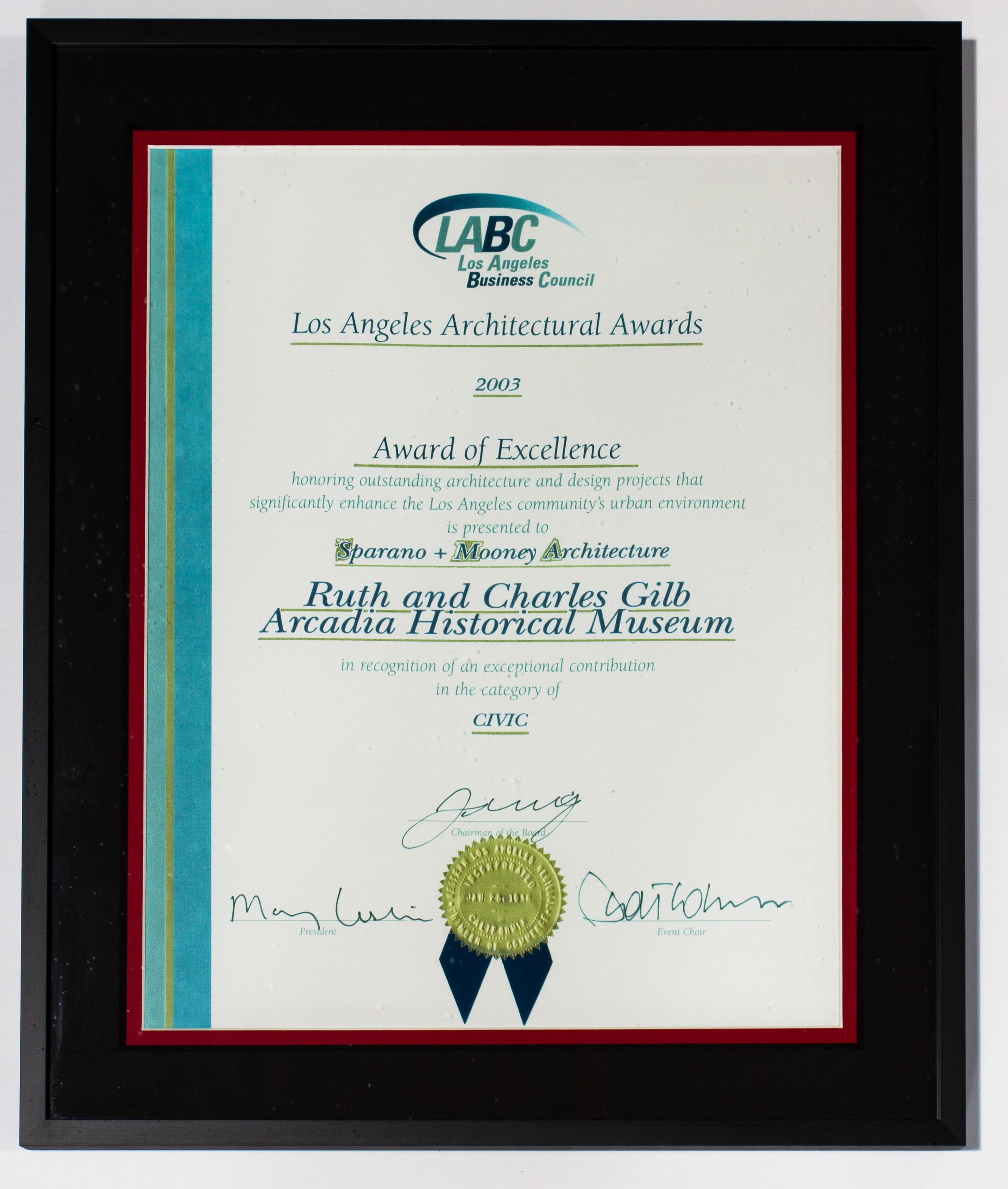 SparanoMooneyArchitecture_Award(07)