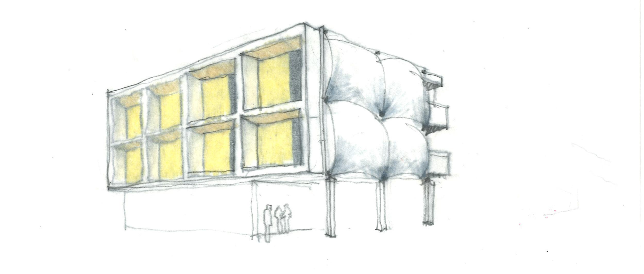 Sparano Mooney Architecture_Central 9_Process_Sketch_Facade_EggShell_01.jpg
