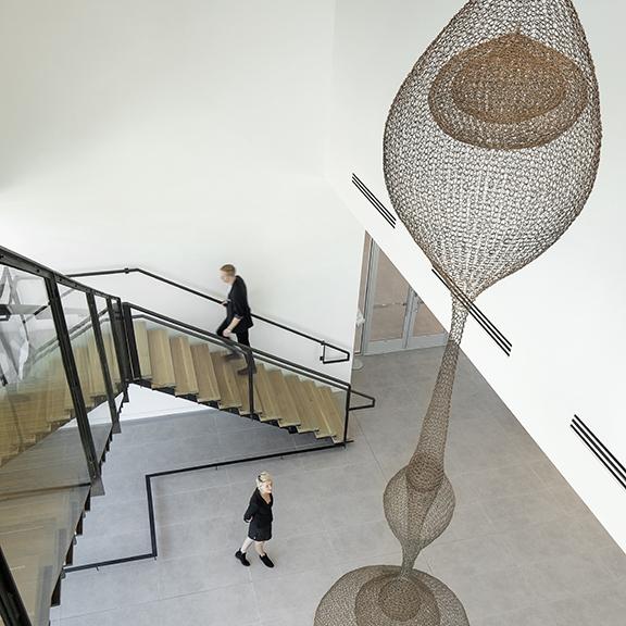 SparanoMooneyArchitecture_NEHMA_Lobby Stair Above.jpg