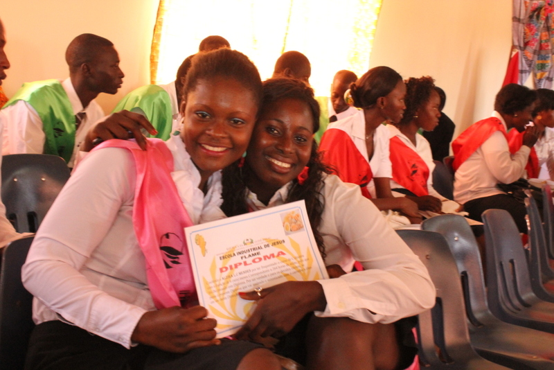 West African Vocational Schools English graduates with diplomas