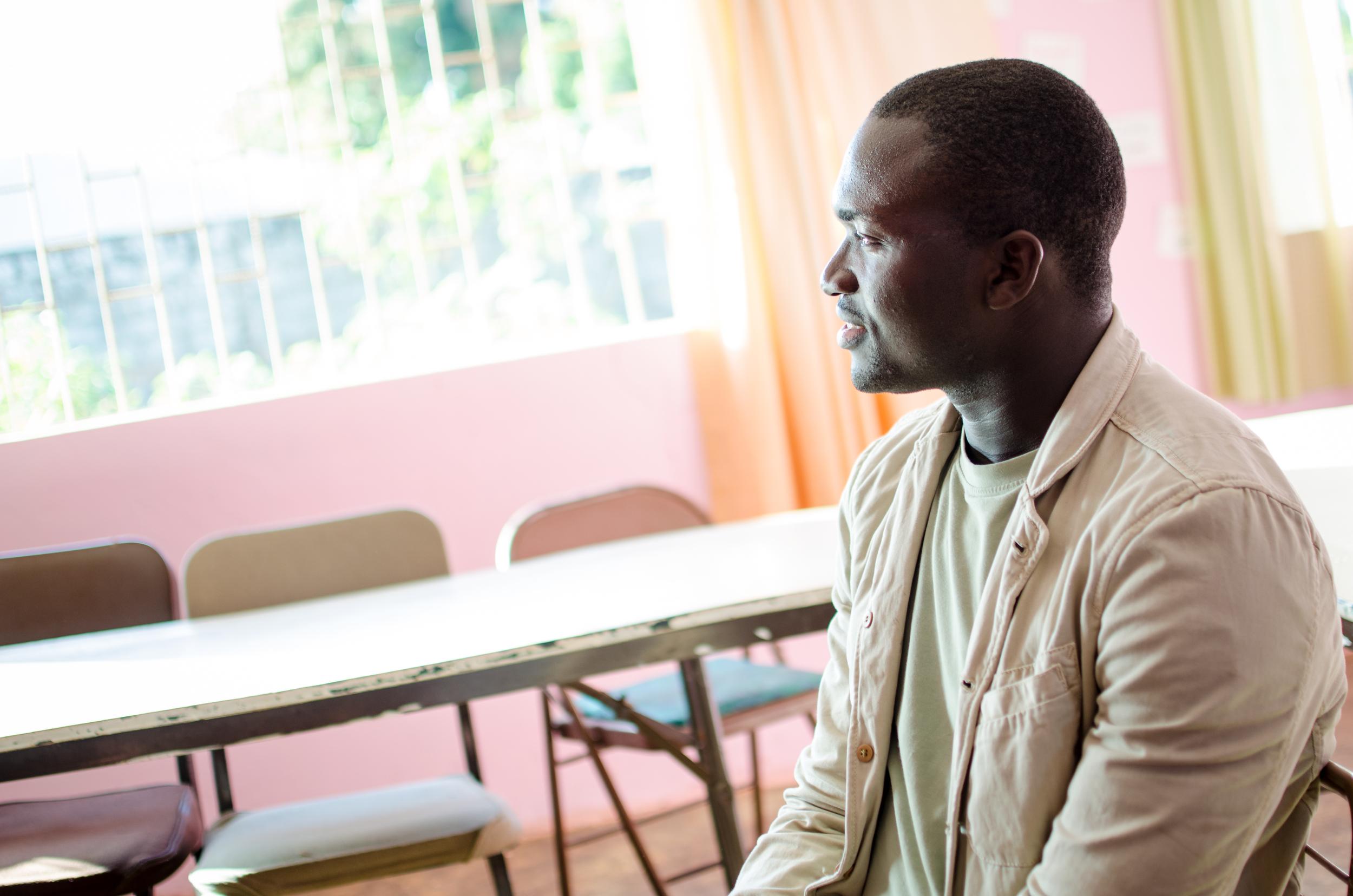 West African Vocational Schools Director Almamo Danfa