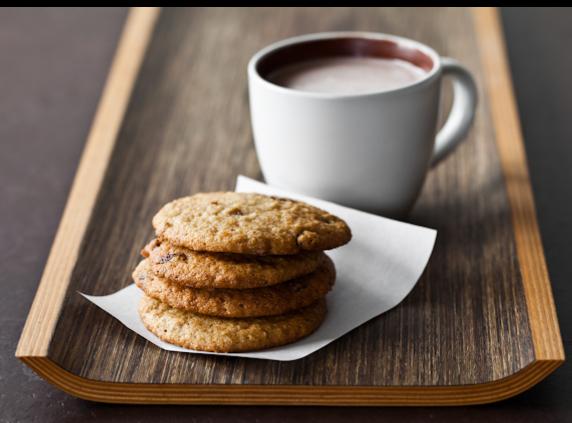 Coffee and cookies for Djumbai & Dessert