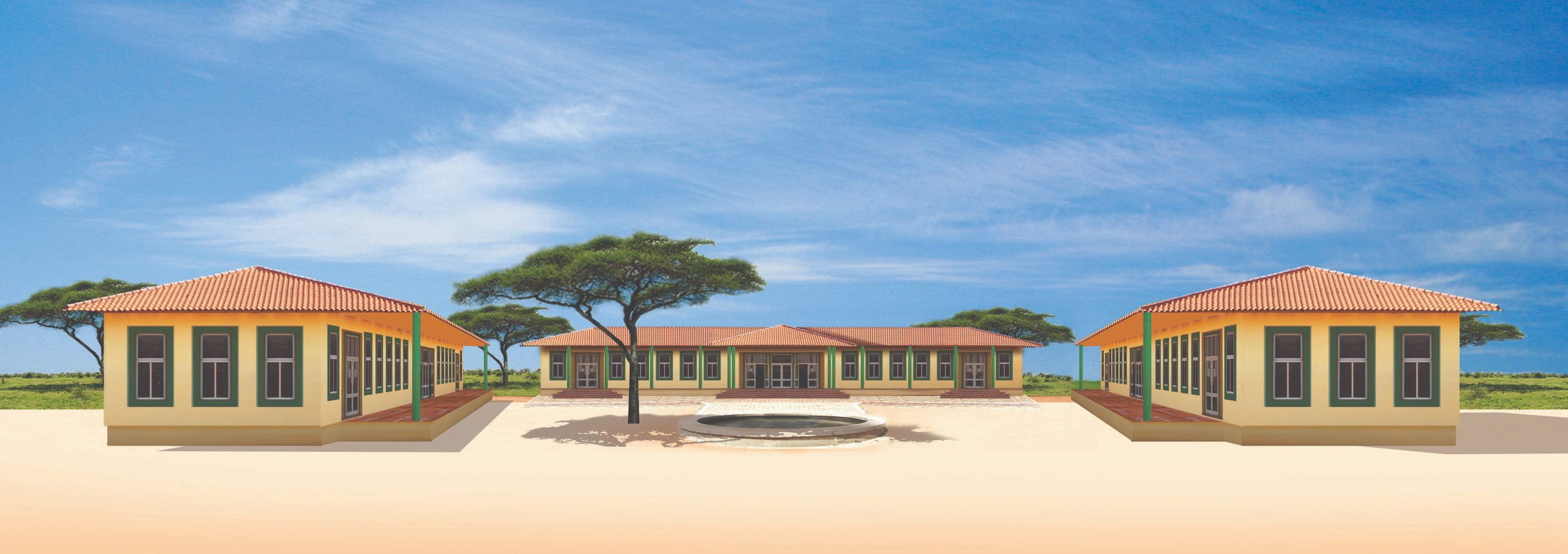 The new campus in Bissau will serve up to 1,000 students each year.