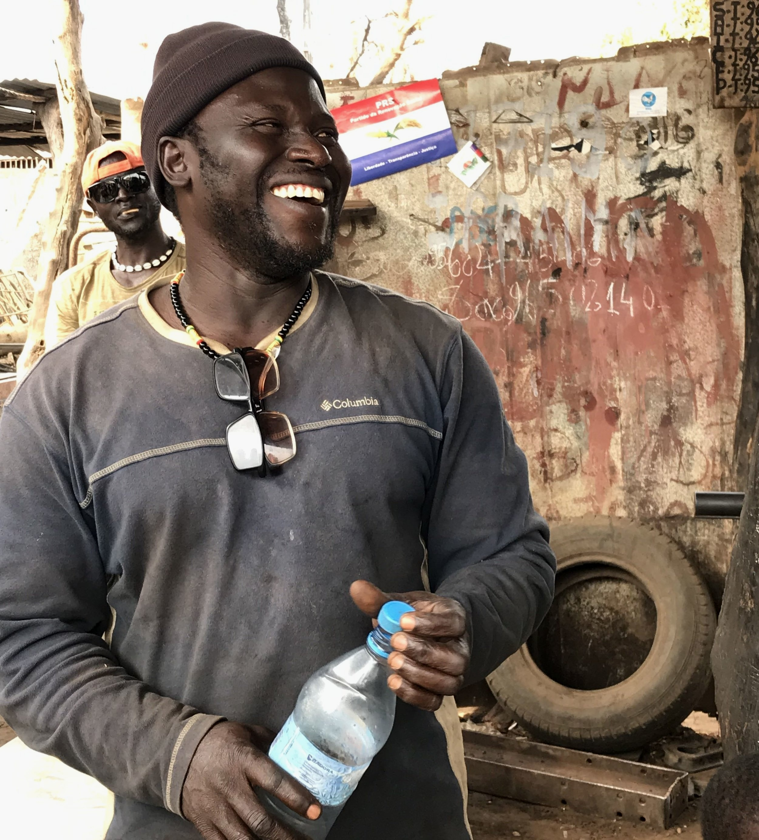 Ciro had never received any formal training as a welder. After studying at the WAVS Vocational School, he was able to grow his business by taking on more types of welding jobs.