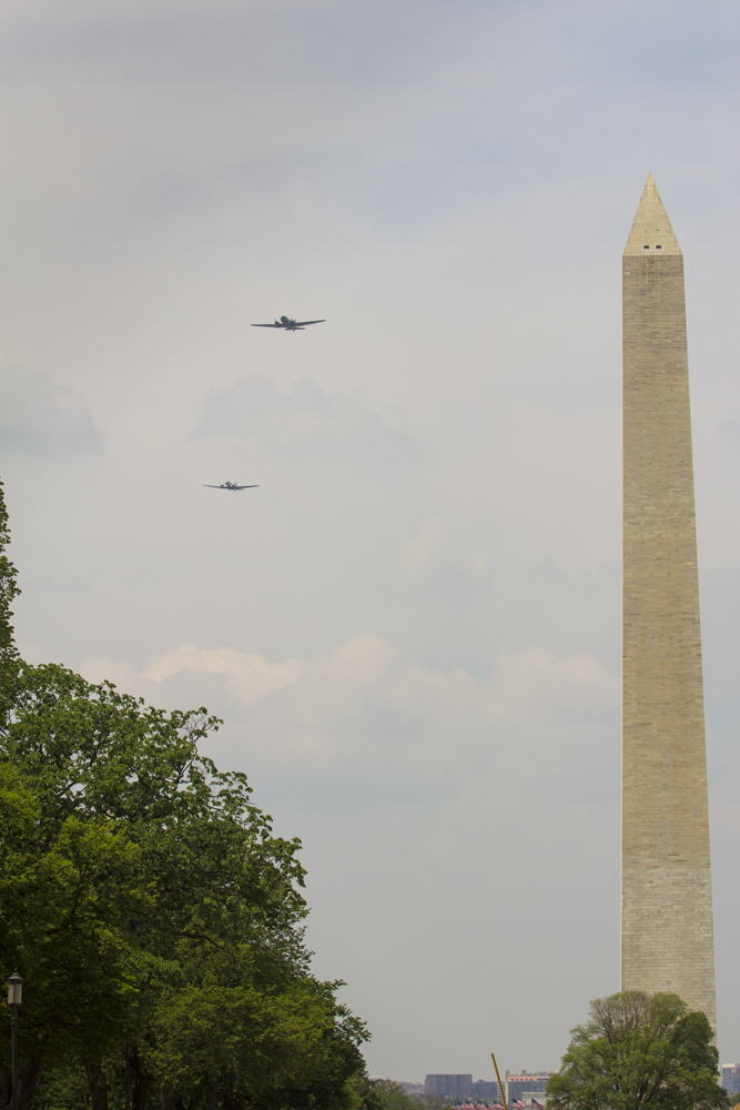 National Mall Flyover