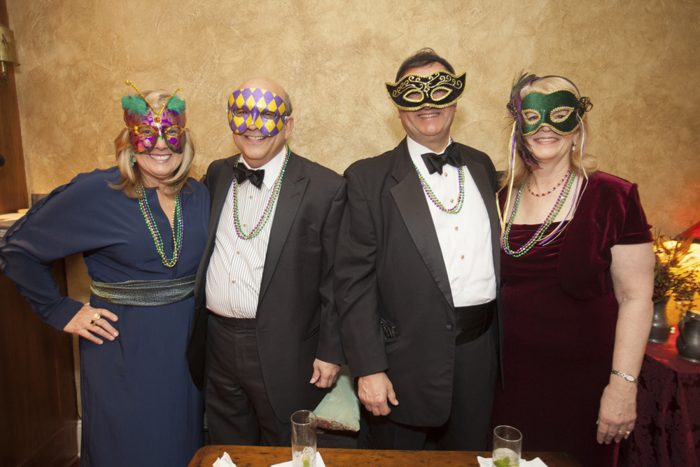 Ted's and Mary's Masquerade