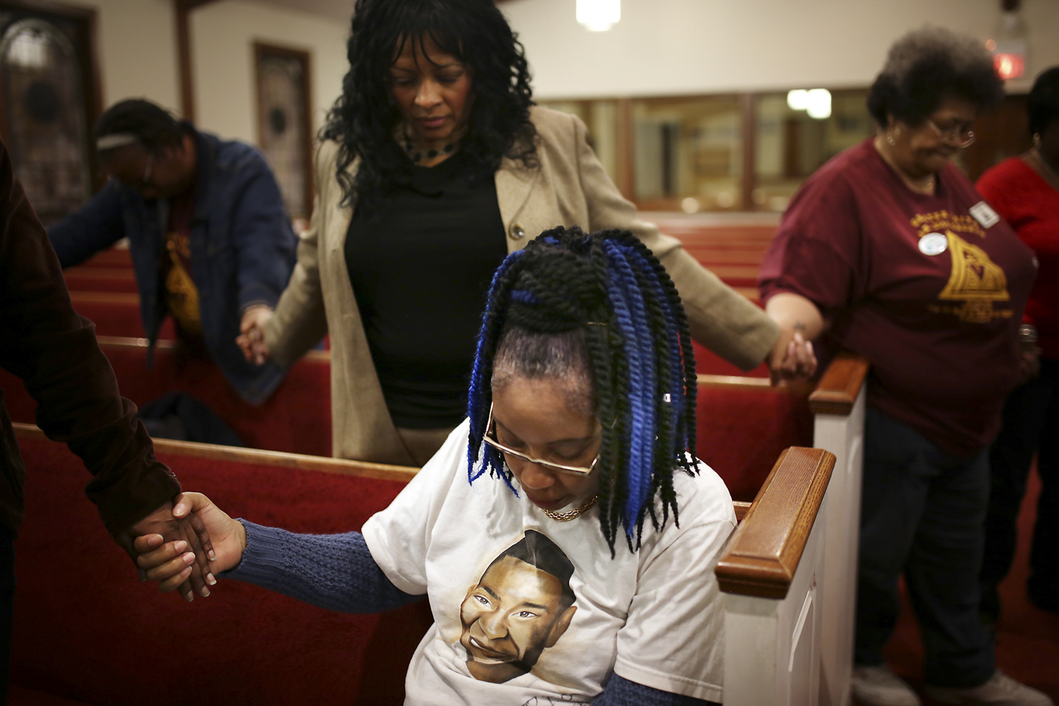 Petersburg resident Nauvata Evans, whose son was killed in the city in 2005, advocated for better neighborhood watch programs and for people to be unafraid to share information with local police. [Scott P. Yates/progress-index.com]