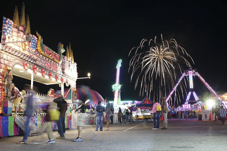 The Dinwiddie County Fair on Sept. 8, 2017. [Scott P. Yates/progress-index.com]