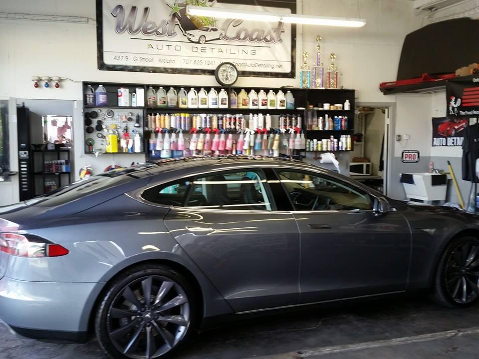 silver shiny car