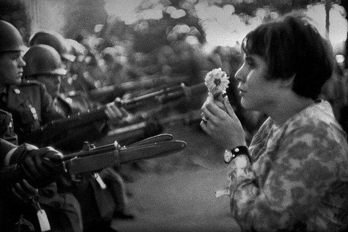 Flower Child, Marc Riboud