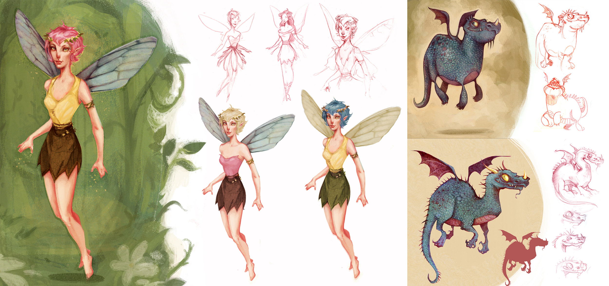 Character Designs and Concept Art for Medical University of SC, Vitamin Pictures