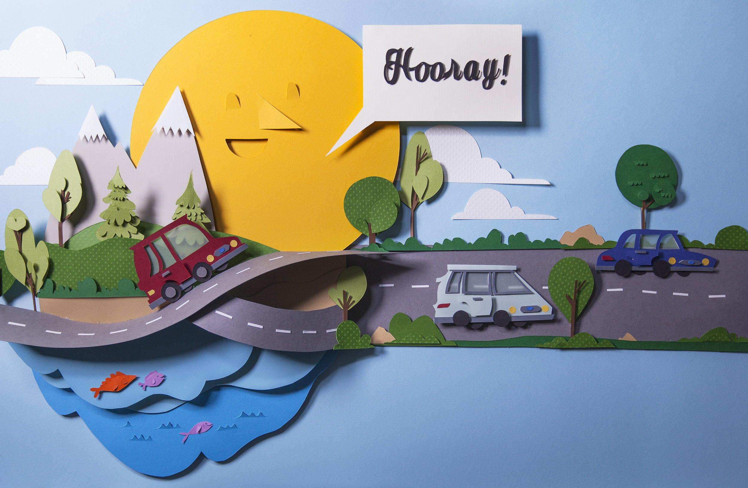 Papercraft Piece for Ford, Vitamin Pictures