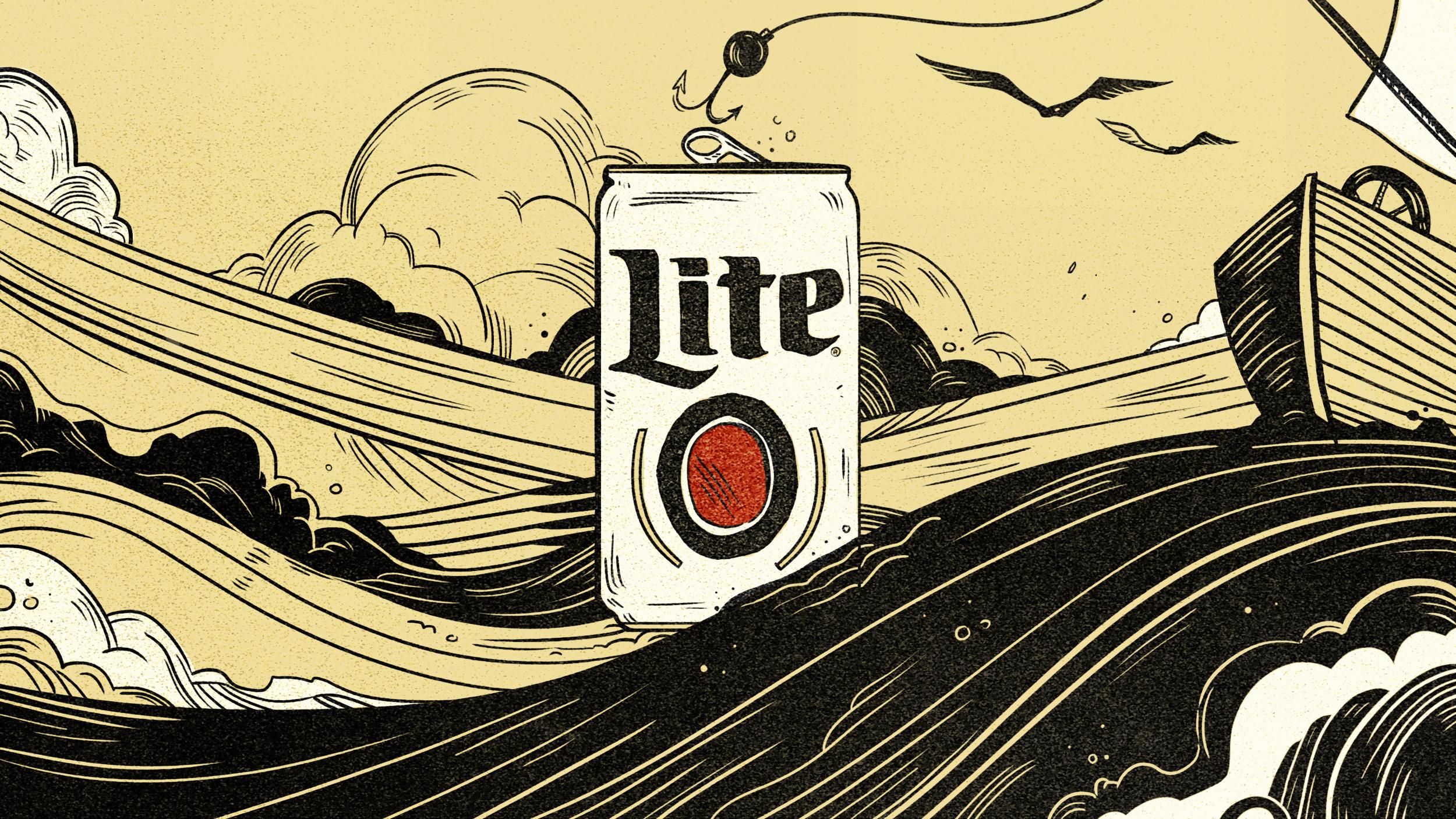 Style Frames for Miller Lite, Flavor