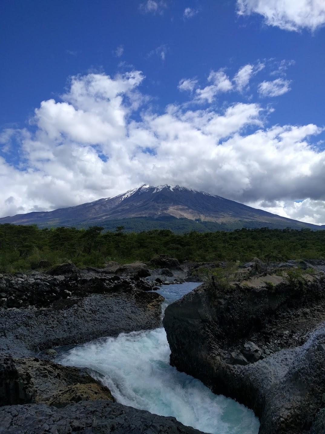EH Sherman at Osorno volcano
