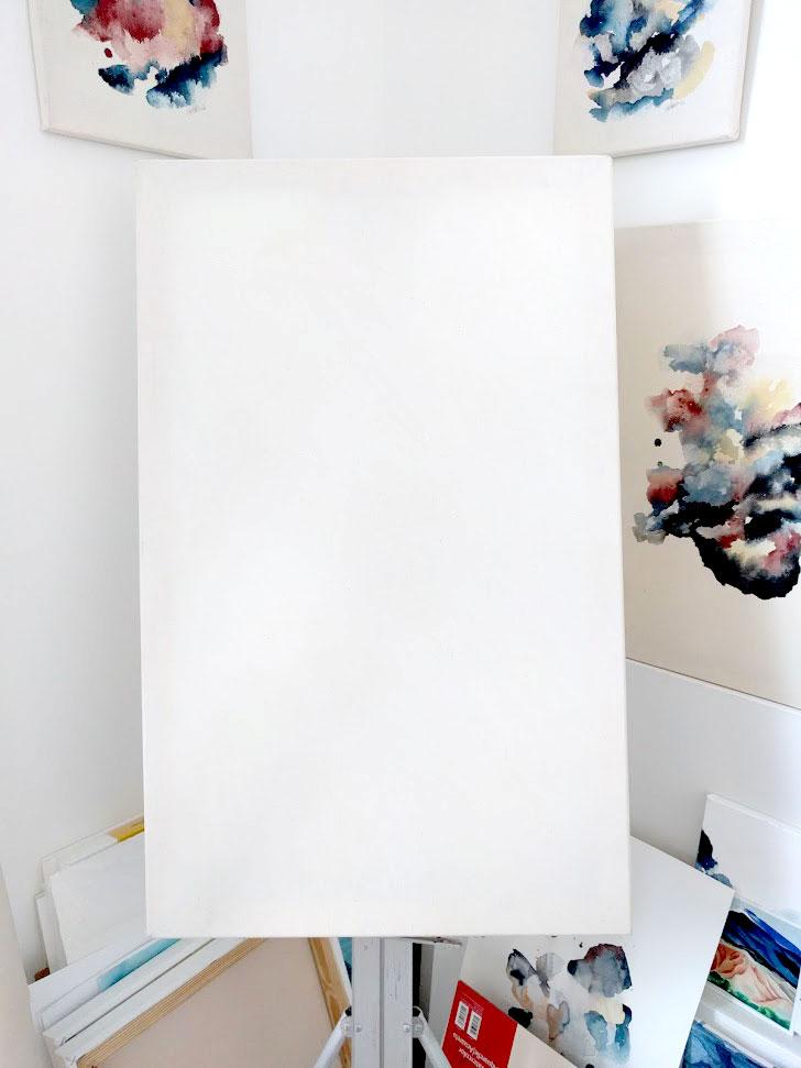 E.H. Sherman Blank Linen Canvas