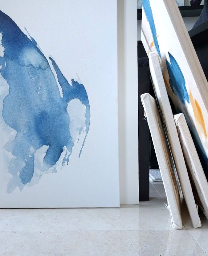 EH Sherman Art - Studio Reorganization