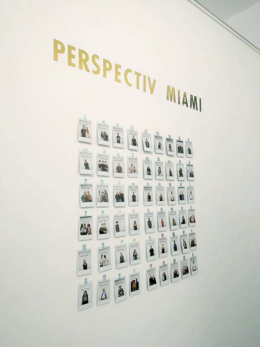 EH Sherman Art at Perspectiv Miami