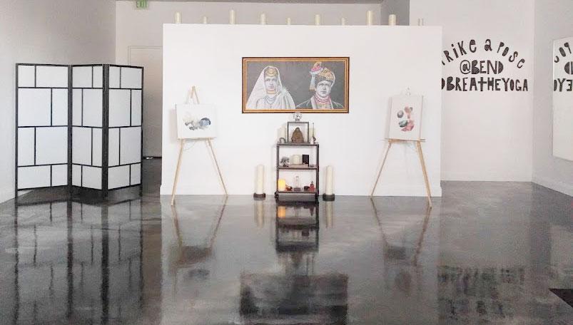 EH Sherman Art at Bend and Breathe Yoga