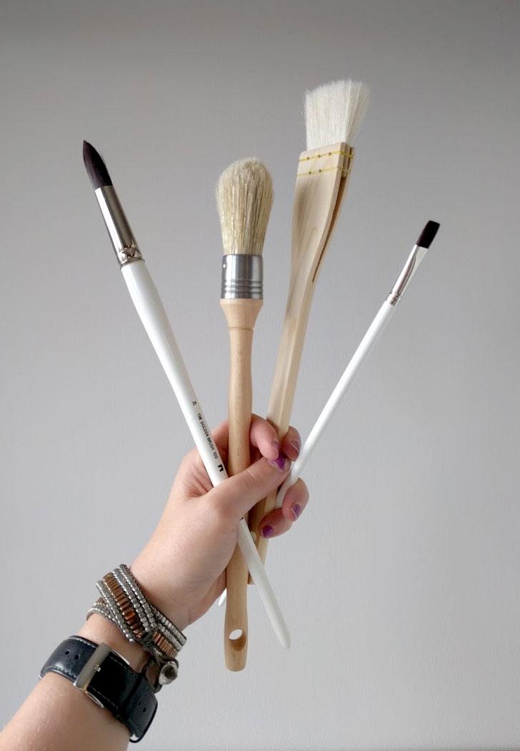 EH SHerman Art - Brushes