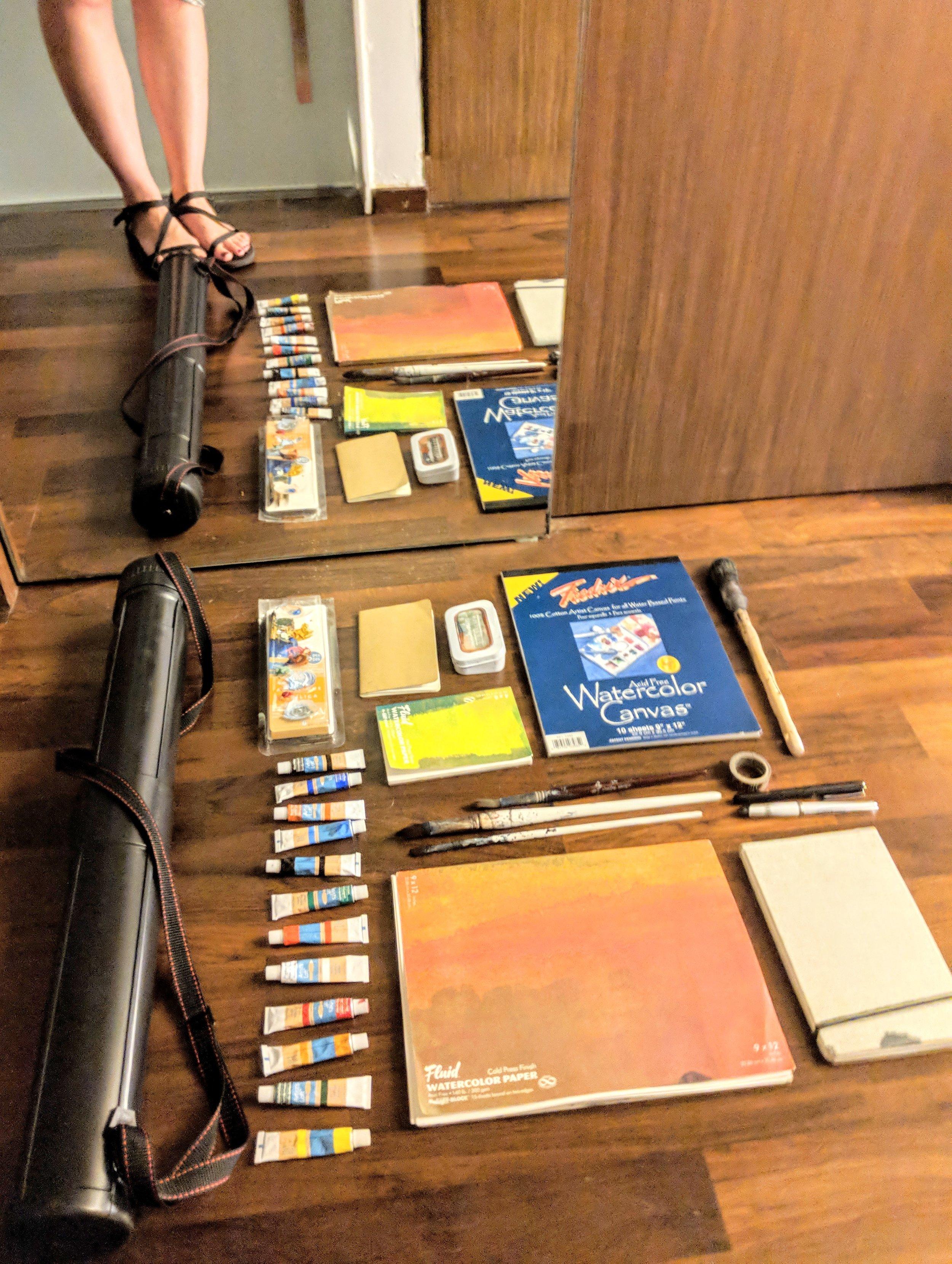 EH Sherman Art - Art Travel Supplies