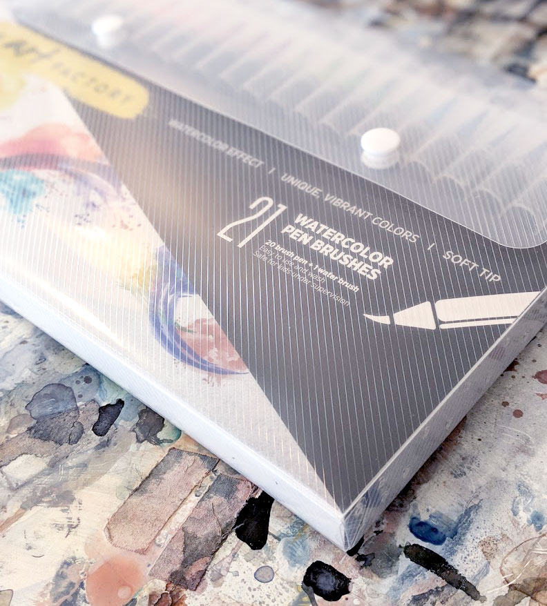 EH Sherman Watercolor Marker test