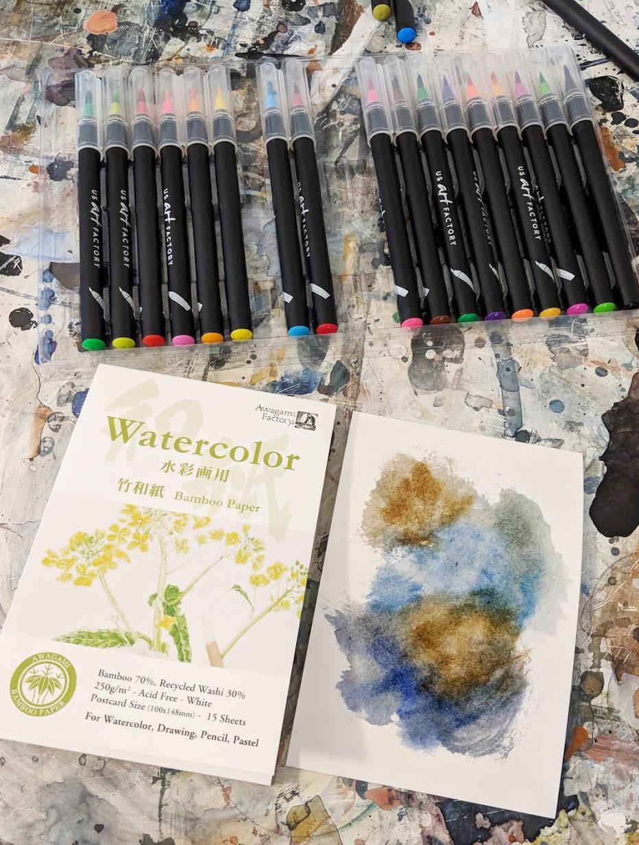 EH Sherman US Art Factory Watercolor Markers