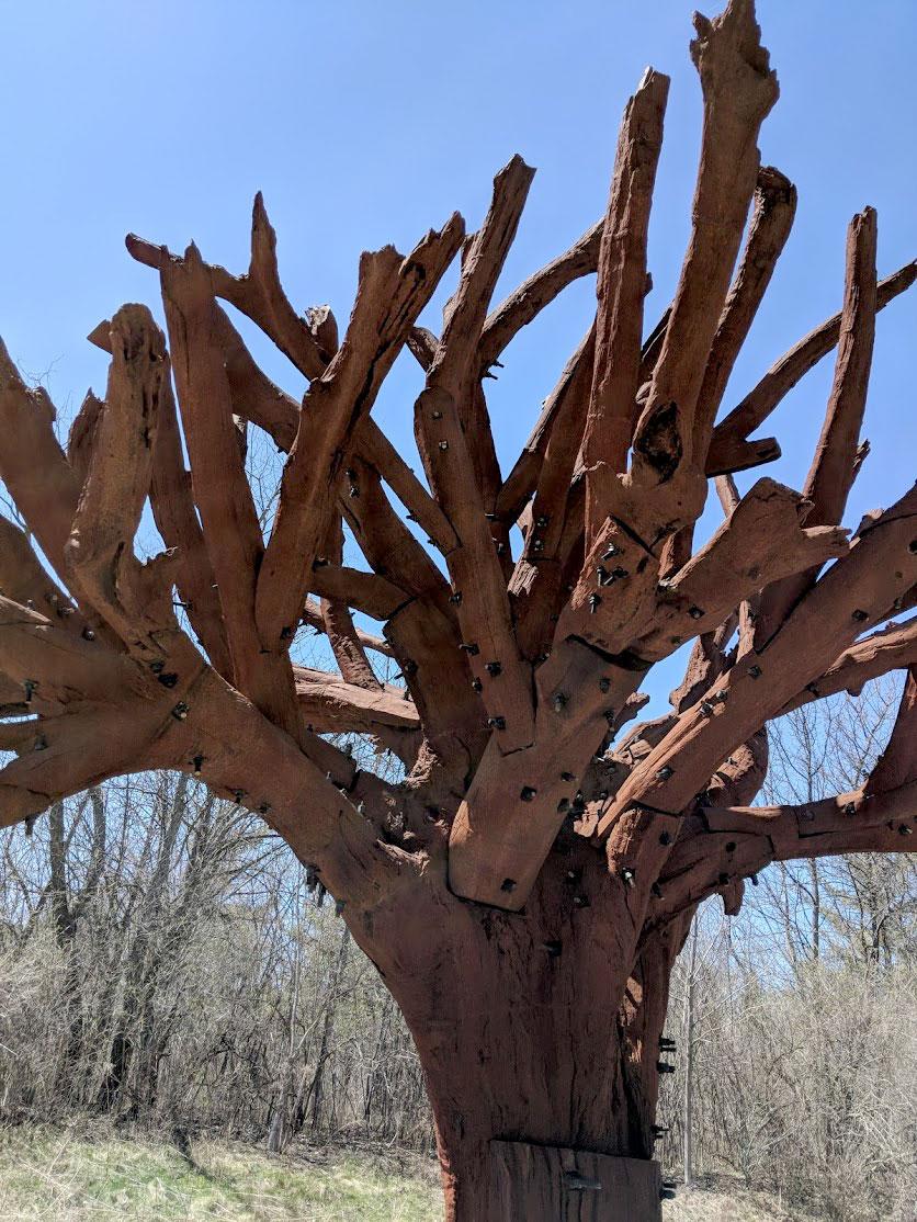 Ai Weiwei. Iron Tree 2013