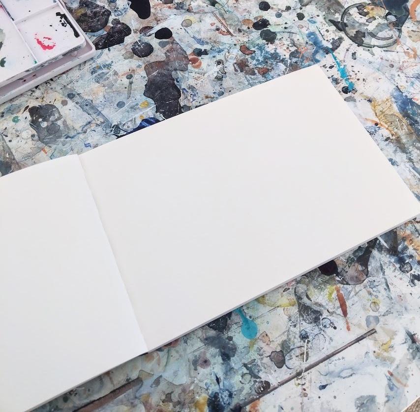 EH Sherman Sketchbook - blank page