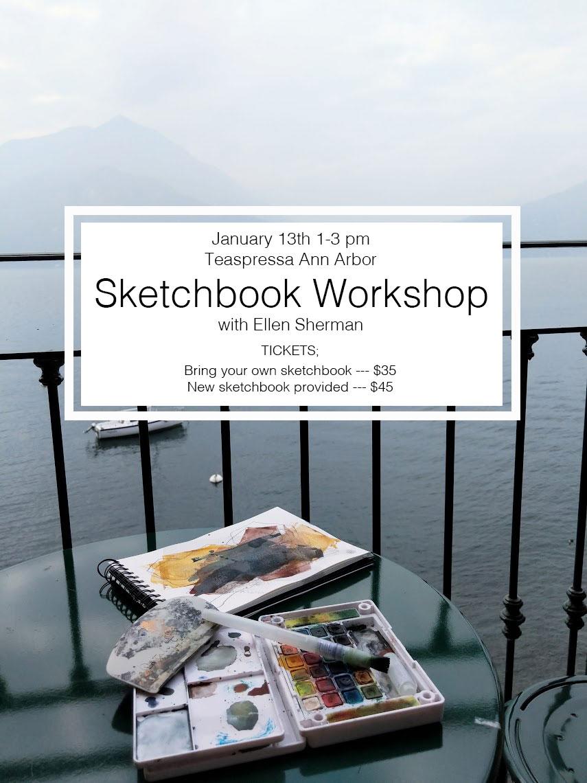 EH Sherman Sketchbook Workshop