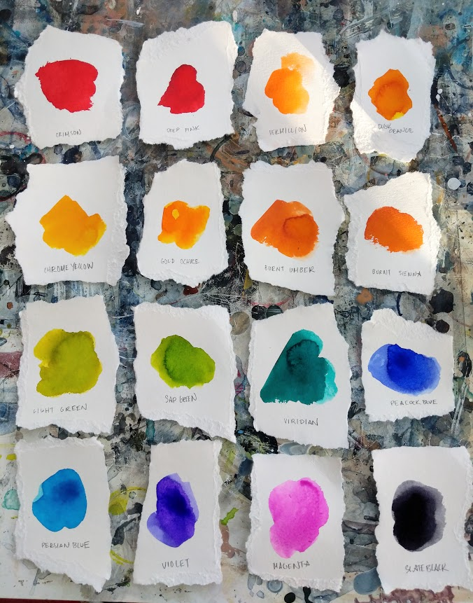 EH Sherman Art supply review - Viviva Colorsheets