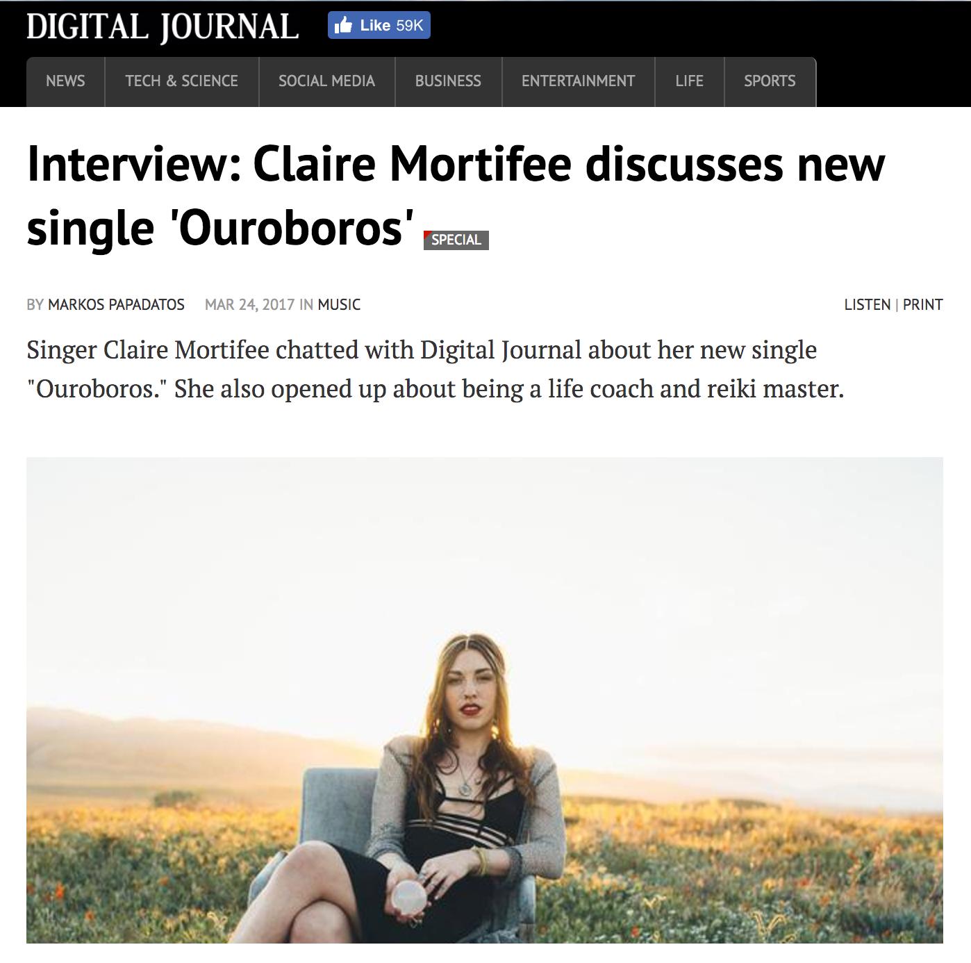 (( Digital Journal ))  3/24/17