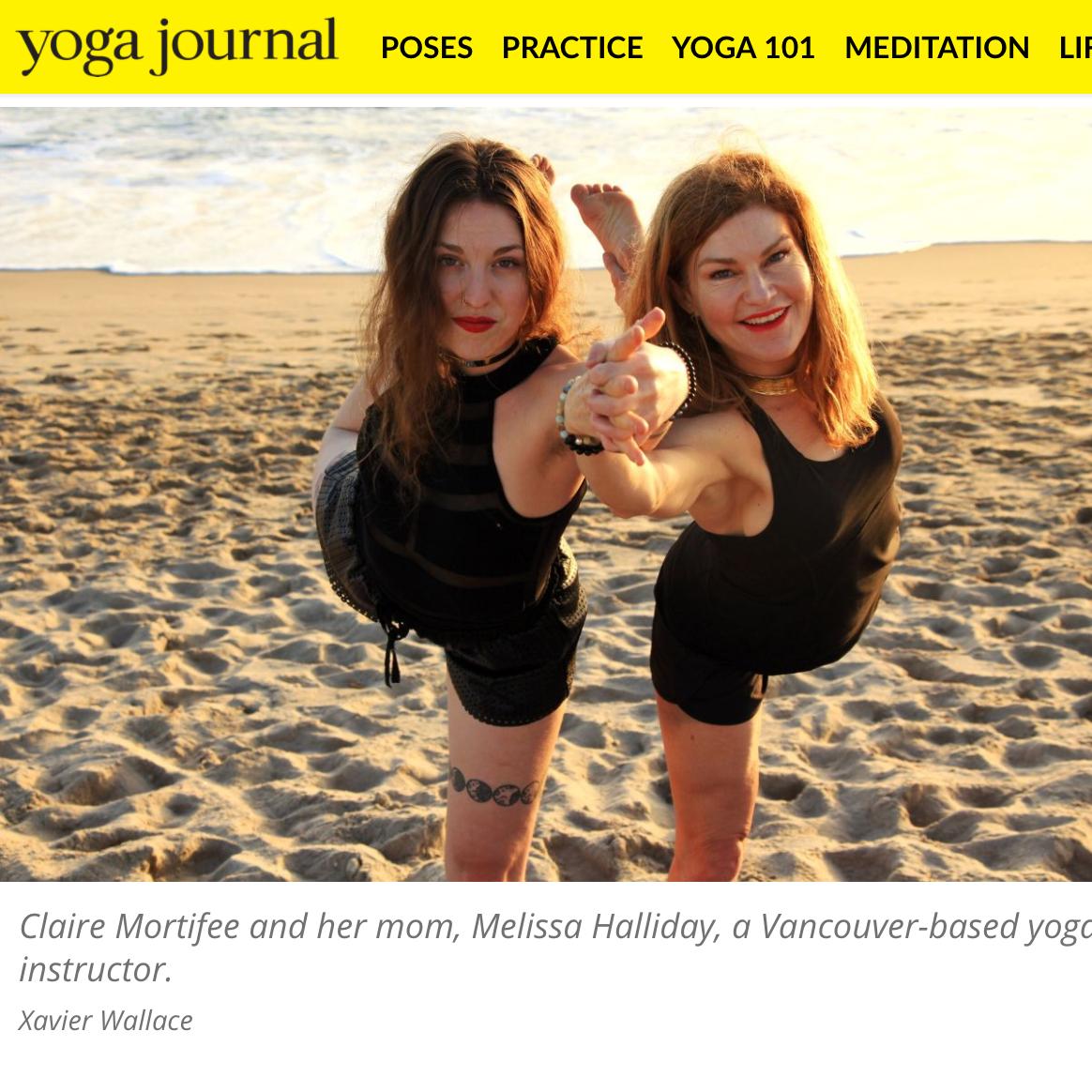 (( Yoga Journal ))  7/6/17