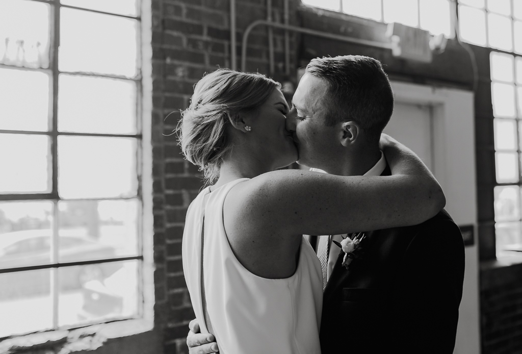 emotional-first-look-with-bride-and-groom-black-and-white-columbus-ohio-wedding-photographer2.jpg