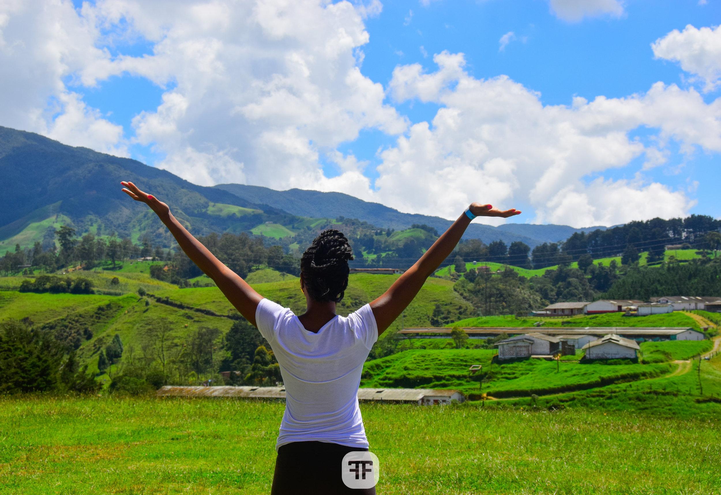 Medellin mountains