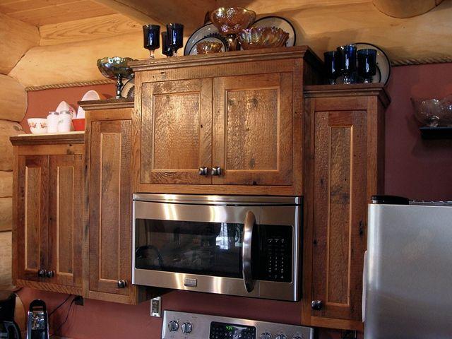 Custom Rustic Kitchen Cabinets Barn