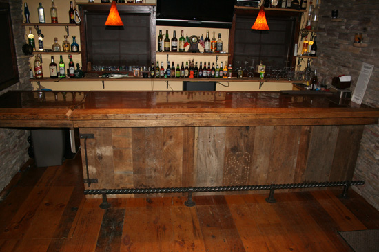 Reclaimed Wood Bar Furniture Barn