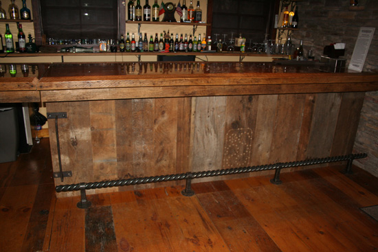 Barnwood Bar Barn Wood Furniture Rustic And Log